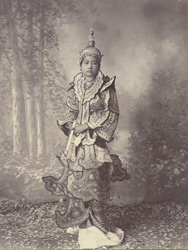 Burmese princess [or dancing girl]